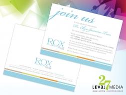 Rox Center Invitation
