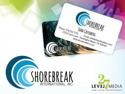 Stationery and Logo Design for Shorebreak International Inc