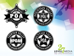 Logo Design for Fountain Valley Police Officer's Association