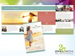 Brochure Design for Casa Capri Recovery
