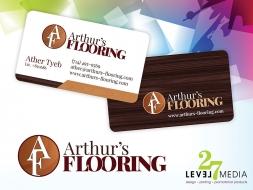 Logo Design for Arthur's Flooring