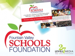 Logo Design for Fountain Valley Schools Foundation