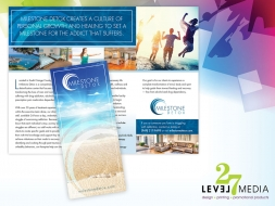 Milestone Detox Brochure Design