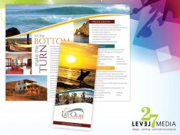 Las Olas Recovery Brochure Design