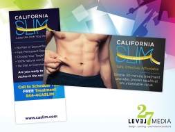 California Slim Postcards