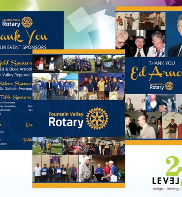 Presentation Boards for Fountain Valley Rotary
