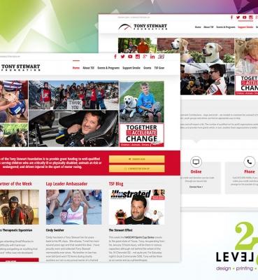 Tony Stewart Foundation Website