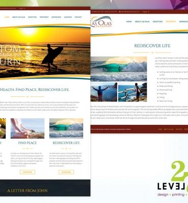 Las Olas Recovery Website
