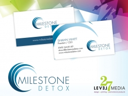 Logo Design for Milestone Detox