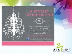 A Jewelry Wonderland Banner Design