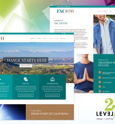 Web Design for FSC Detox