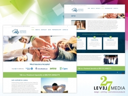 Web Design for Advanced Recovery Solution